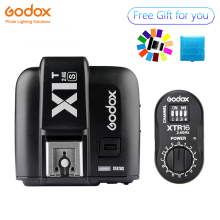 Godox X1T-S TTL HSS 2.4G Flash Transmitter + XTR-16 USB Receiver kit for Sony DE300 DE400 SK400 SK300 DP600 QT600
