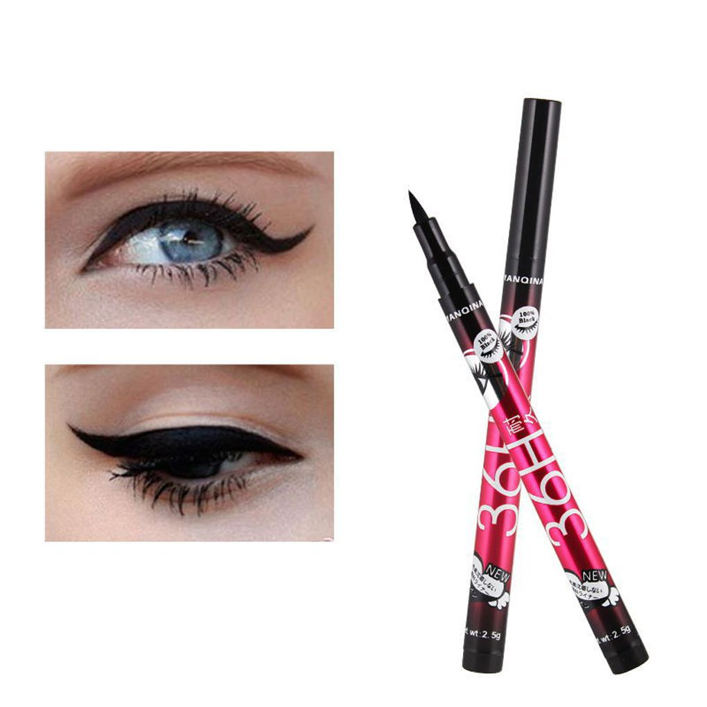 BGVfiveHot Sale Eye Liner Water Proof Black <font><b>Eyeliner</b></font> Liquid <font><b>Pen</b></font> Smooth Anti Blooming Fast Dry image