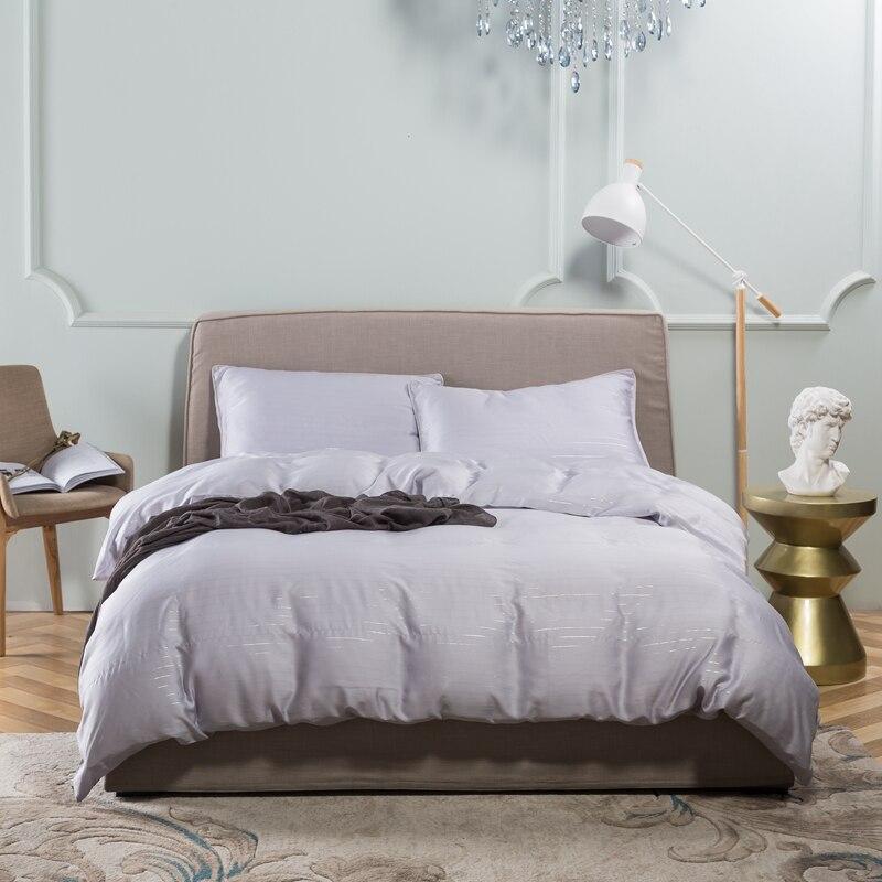 Ivarose 2017 New 4 Pieces Tencel Luxury Bedding Set Black