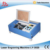 Russia free tax 3020 laser engraver 40w laser cutting machine square guide rail high speed laser milling machine