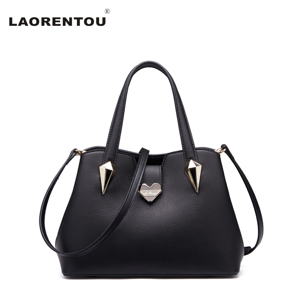 ФОТО Laorentou New Arrivals Luxury Cowhide Leather Lady Tote Bag Exclusive Style Women Handbag Crossbody Bags For Women Bag N45