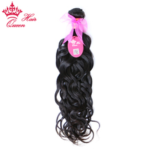 Queen Hair Products Brazilian Natural Wave Remy Hair Natural Color 10″ – 28″ 1 Piece 100% Human Hair Weave Bundles