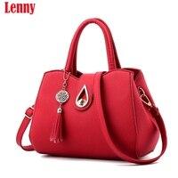 Fabra New Women Handbags Fashion Shell Women Shopping Messenger Bags PU Leather Handbags Shoulder Crossbody Bag
