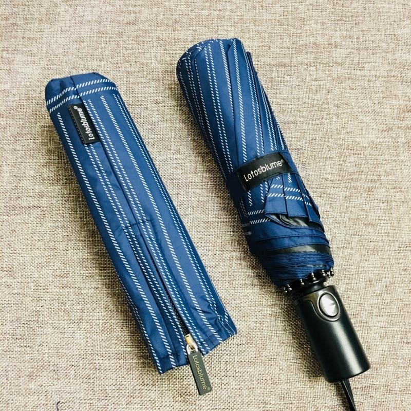 Quality 10 Rib Strong Automatic men's umbrellas folding /windproof - Household Merchandises - Photo 4