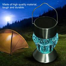 купить Garden LED Solar Light Outdoor Hanging LED Light 7 Colors Solar Lamp Lantern For Garden Decoration в интернет-магазине