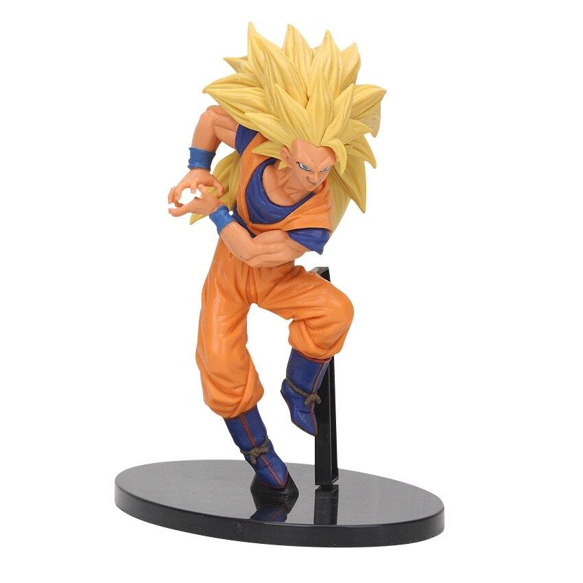 8-30 см Dragon Ball Z SCultures, большая серия Budoukai, фигурка из лазурита, наппа, радиц, Гоку, плавки, Вегета, сатана, Коллекционная модель - Цвет: Super Saiyan goku