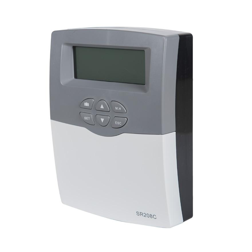 SR208C Controller Solar Heizung Controller Neue Aktualisiert Mit 3 Temperatur Sensoren-in Solar-Controller aus Heimwerkerbedarf bei AliExpress - 11.11_Doppel-11Tag der Singles 1