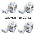 4PCS 39681-TL0-G01ZA PDC Parking Sensor Retainer For Toyota Honda Accord 39681-TL0-G01 White 39681TL0G01