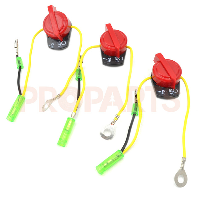 on off engine stop switch three wire fits honda gx120 gx160 gx200 rh aliexpress com Honda GX240 Small Engine Honda GX390 13 HP Engine