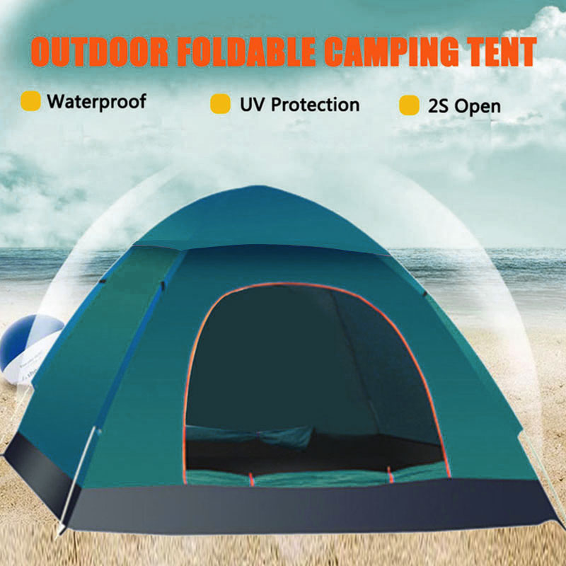 200 x 150 x 115 cm Folding Tent Multicolor Durable Hunting Camping Oxford Cloth Bedding Hiking Mosquito Net Outdoor Sunshelter image