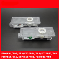 Car LED Courtesy 3d Led Door Logo Light E66 E67 E68 F01 F02 F03 F04 E90