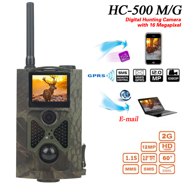 HC300M HC550M Hunting Camera 12MP GSM Night Vision Infrared wild trail Cameras Hunter Scouting Photo Traps Game chasse camera
