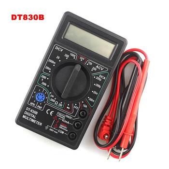 DT830B Mini Multimeter LCD Digital Multimetro For Volt Amp Ohm Tester