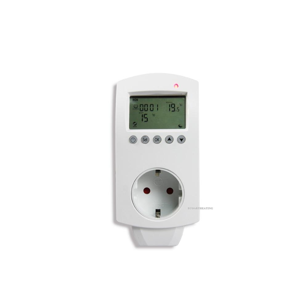 Инфракрасный нагреватель панели интимные аксессуары Цифровой комнатный термостат температура контроллер Германии склад