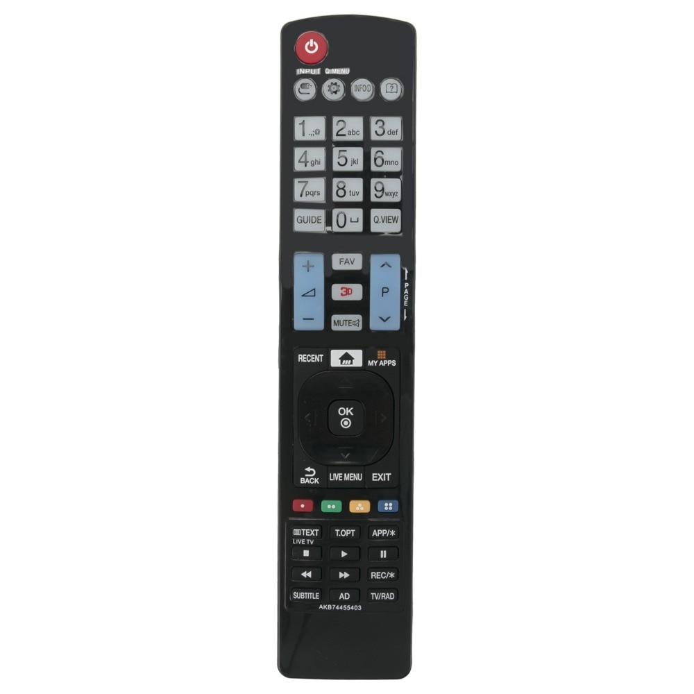 Beyution New AKB74455403 Replaced Remote Control fit for LG 49LF640V 50LF650V 50LF652V 50LF653V Smart TV