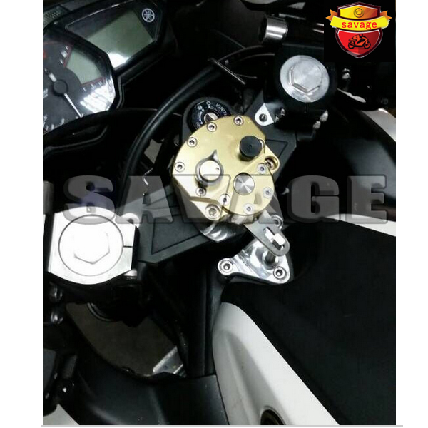For YAMAHA YZF R3 YZF R25 2014 2015 2015 New Arrival Motorcycle Steering Damper Stabilizer with Mounting Bracket Kit