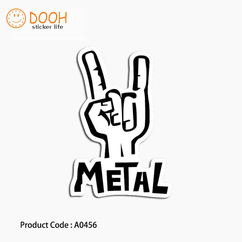 A0221 sticker rock star lets rock punk classic suitcase laptop guitar luggage DIY skateboard bicycle toy HZ 30