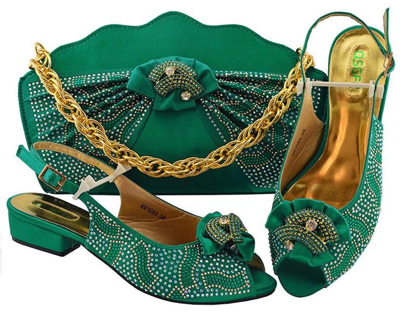 Africain Sb8308 Taille Pour Soirée Chaussures Sacs Ebi Ensemble Sac Italiennes 38 43 Couleur À Aso De 5 Et Assorti Teal Vert qHUwAtHr