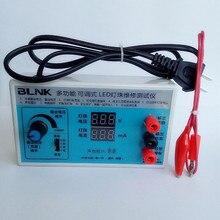 Многофункциональный регулируемый двойной цифровой дисплей светодиодный светильник тестер свет патч тестер ЖК-дисплей ТВ экран лампа подсветки тестер