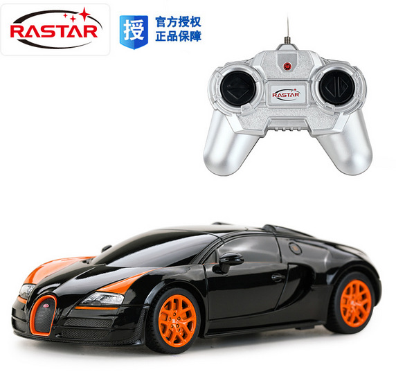2017 new rc car kids toys remote control cars drift scale models radio controlled rastar 47000 124 model toys free shipping