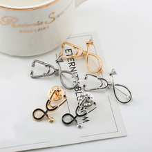 Cute Stethoscope Brooches for Doctor