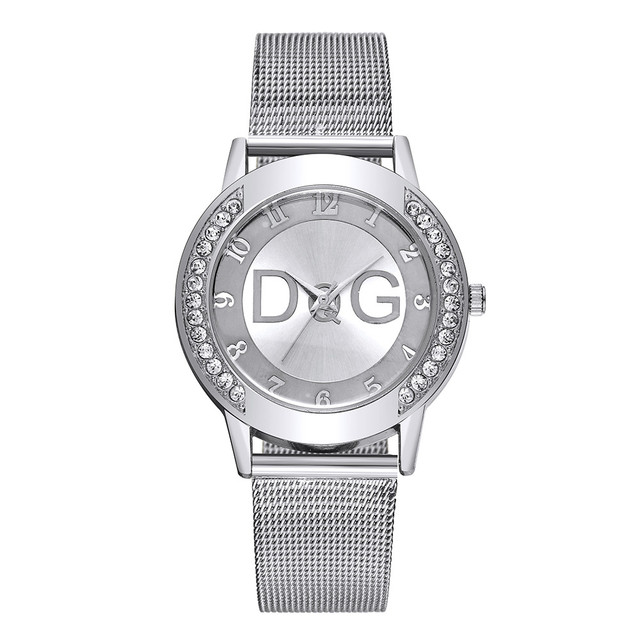 Reloj hombre Watch Women Watches Mesh Stainless Steel Fashion Discount Female Cl