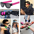 Slap Fashion Sunglasses Creative Wristband Slappable Glasses Snap Bracelet Bands