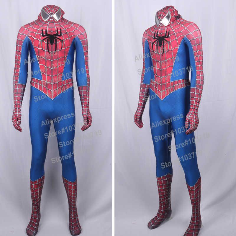 Hero Catcher High Quality 3d Raimi Spider Man Costume Spider Man