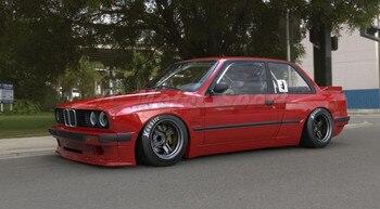 Araba Aksesuarları FRP Fiber Cam PD Tarzı Yan Etek Için Fit 1984-1991 E30 Coupe Yan Etekler Araba Styling