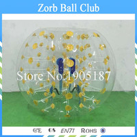 Free Shipping 1.5m Human Inflatable Bumper Bubble Ball,Bubble Football/Soccer,Knock Ball for Sale