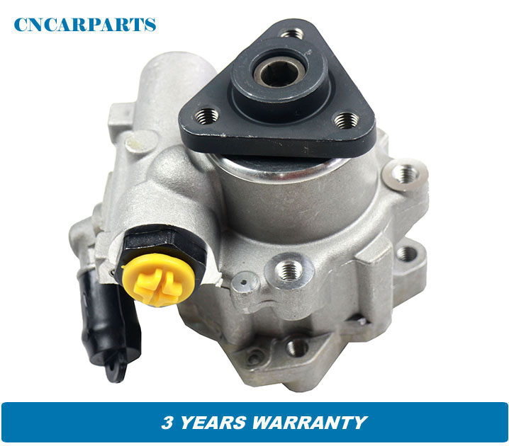 New Power Steering Pump Fit for <font><b>Audi</b></font> A6 <font><b>2.5</b></font> <font><b>TDI</b></font> 1997-2005 4B0145155M 4B0145155R image