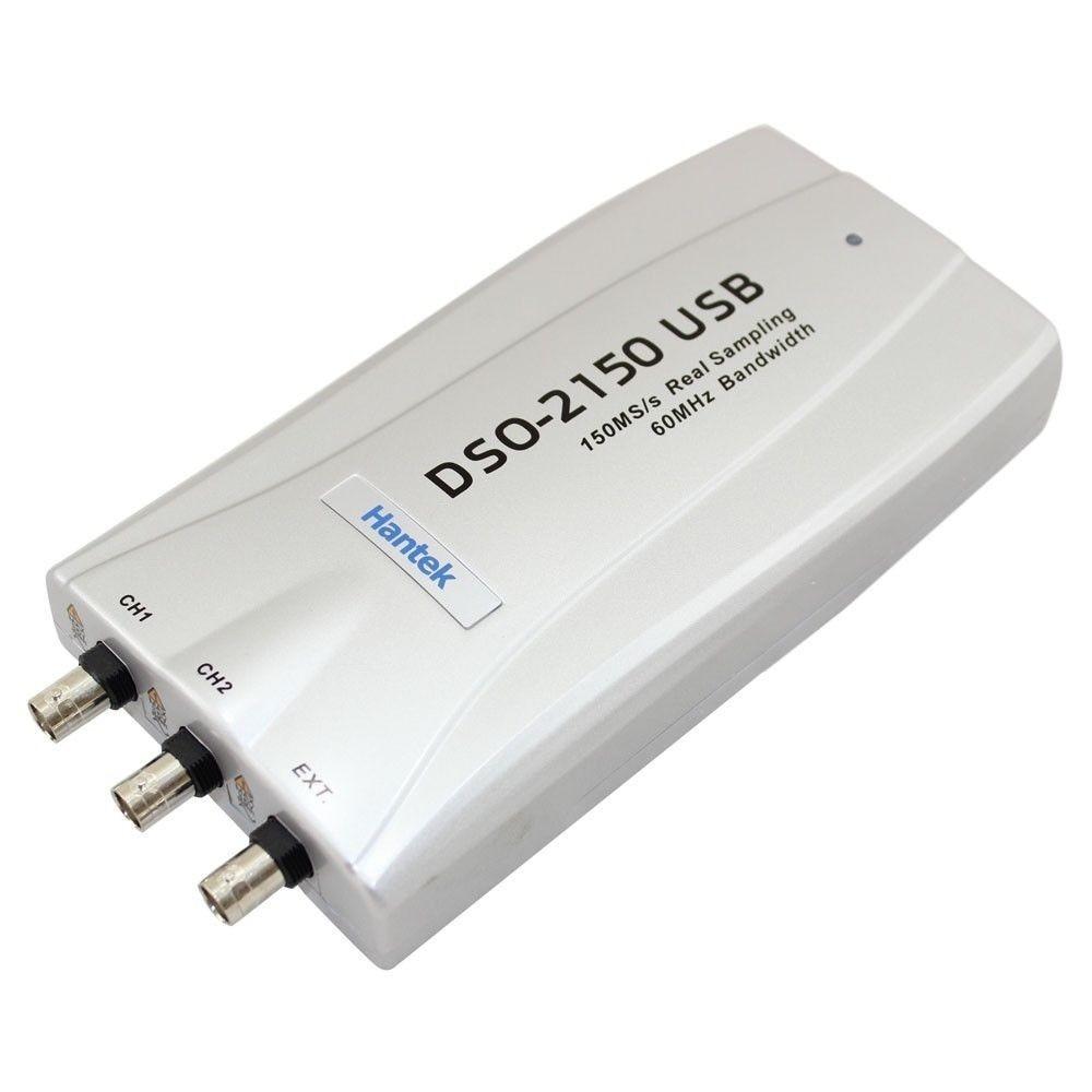Hantek DSO-2150 60MHZ 150MSa/s PC USB Digital Storage Virtual Oscilloscope DSO2150 hantek pc usb digital oscilloscope