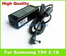 40 Watt 19 V 2.1A universal AC power adapter für Samsung NF108 NF110 NF208 NF210 NF310 ladegerät