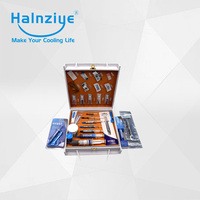 Halnziye thermal interface materials(thermal paste,thermal glue,thermal pad) samples gift box package