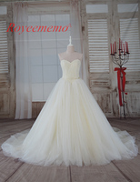 2017 New Design Hot Sale High Quality Lace Champagne And Ivory Wedding Dress Bridal Gown Off