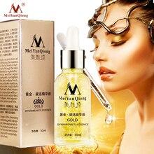 лучшая цена Skin Care Pure 24K Gold Essence Day Cream Anti Wrinkle Face Care Anti Aging Collagen Whitening Moisturizing Hyaluronic Acid