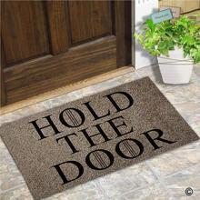 Entrance Doormat ตลกและสร้างสรรค์ Doormat ถือประตูประตูสำหรับในร่มกลางแจ้ง Top