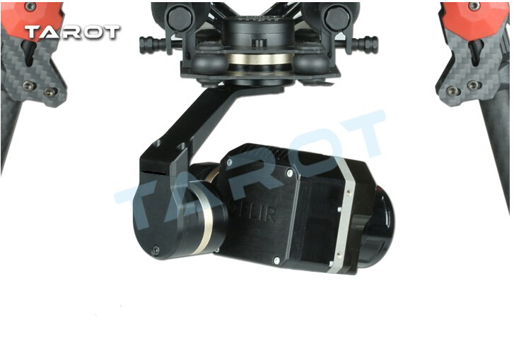 Tarot métal efficace FLIR caméra de cardan d'imagerie thermique 3 axes CNC cardan pour Flir VUE PRO 320 640PRO TL03FLIR - 3