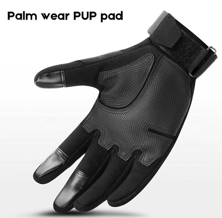 Dragonpad Touch Screen Full Finger Outdoor Gloves Antiskid Wear-Resistant Motorcycle
