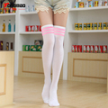 New Autumn And Winter  Fashion Sexy Was Thin Three Stripes on Cotton Knee Stockings Student Bottoming stockings High stockings