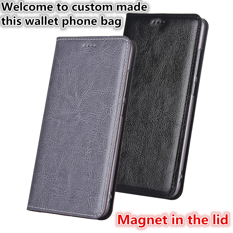 CJ09 Genuine leather wallet phone bag for font b OnePlus b font font b 7 b