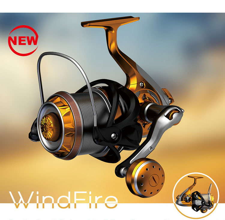 YUMOSHI 10BB WF4000-9000 Molinete De Pesca De