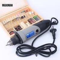 MAXMAN 100pcs/set 3mm Shaft Polishing Dremel Accessories Electric Mini Grinder 400w 0.6~6.5mm Chuck Variable Speed Rotary Tool