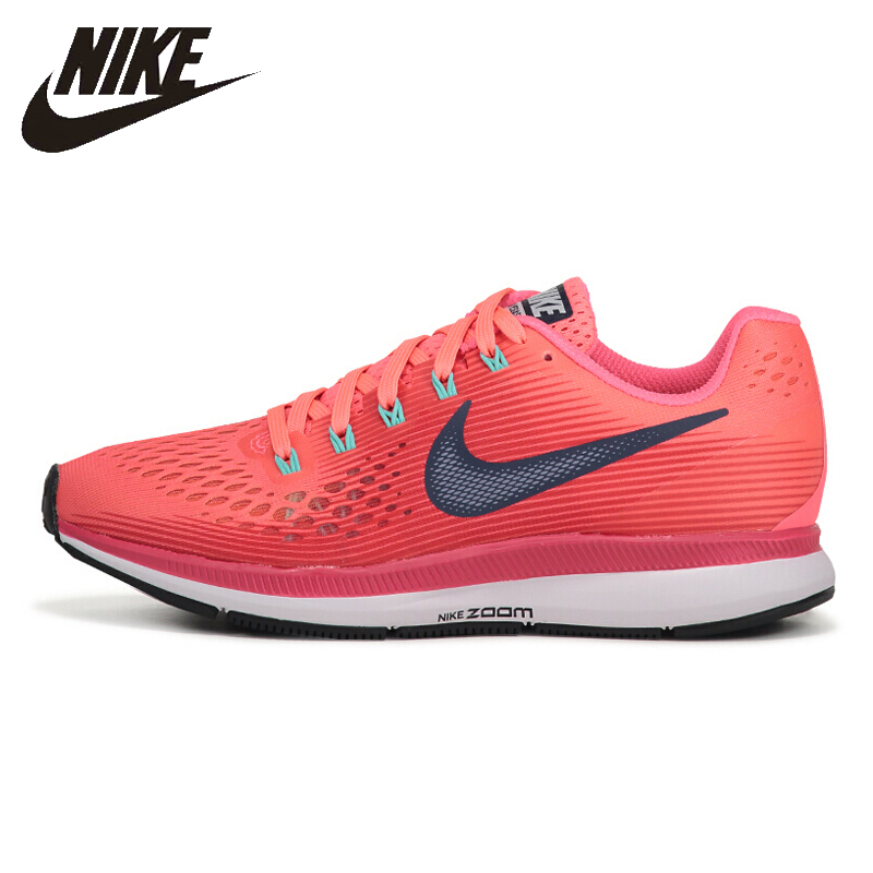 26ef2e59b8dc Nike New Arrival AIR ZOOM PEGASUS 34 Women s Running Shoes Lightweight  Wear-resisting Sneakers 880560-602