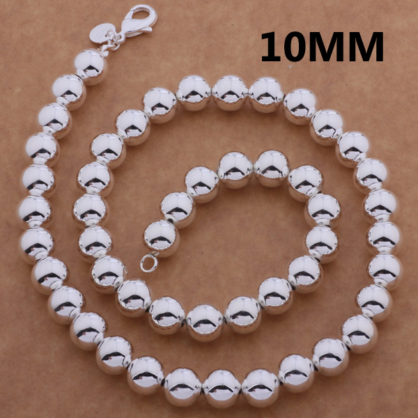 9014f9473ccb AN651 925 sterling gros Collier en argent 925 argent bijoux de mode  pendentif azhajqoa bfmajwta