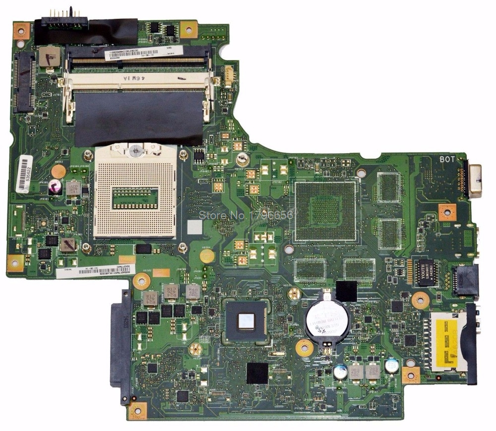 Original For Lenovo IdeaPad G710 Motherboard DUMBO2 REV2.1 Mainboard HD 4600 intergated 100% Work original for lenovo b490 v470 motherboard mainboard 48 4td01 011 100