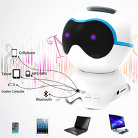 Dog Shaped Wireless Bluetooth Super Bass Stereo Speaker with Noise Reduction Microphone SD998