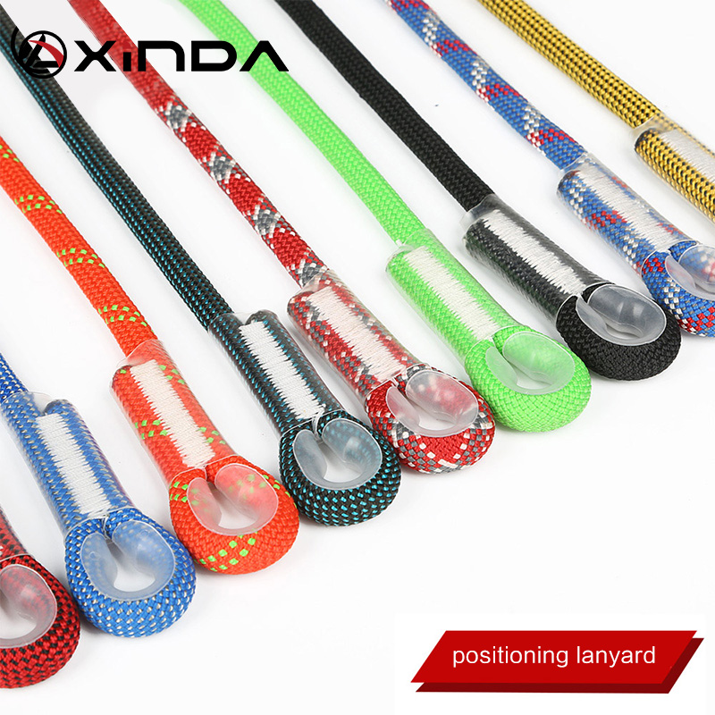 Image 4 - Xinda Professional Rock Climbing 10.5mm Dynamic Lanyard Protective Eye to eye Sling Mountaineering Equipment-in Climbing Accessories from Sports & Entertainment