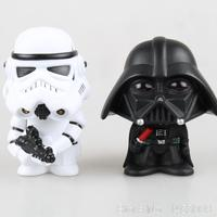Star Wars Stormtrooper Darth Vader Bobble Head Head Knocker PVC Action Figure Collectible Model Toy 10cm
