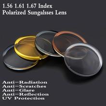 1.56 1.61 1.67 Index Aspheric Polarized Sunglasses Optical Prescription Lens Myopia Presbyopia Recipe Glasses FT0007